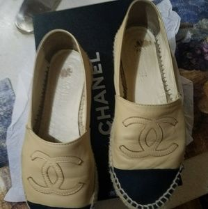 CHANEL Shoes - Chanel espadrille